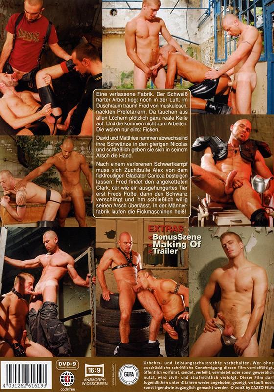 Men Factory DVD - Back
