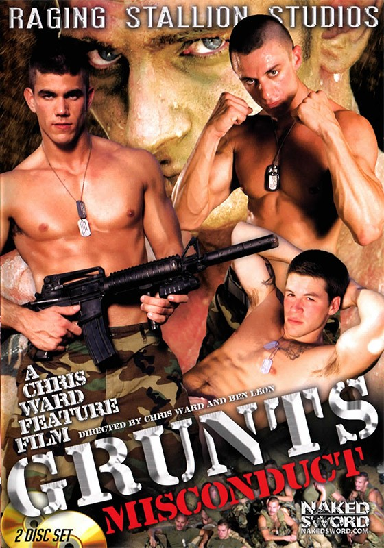 Grunts: Misconduct DVD - Front