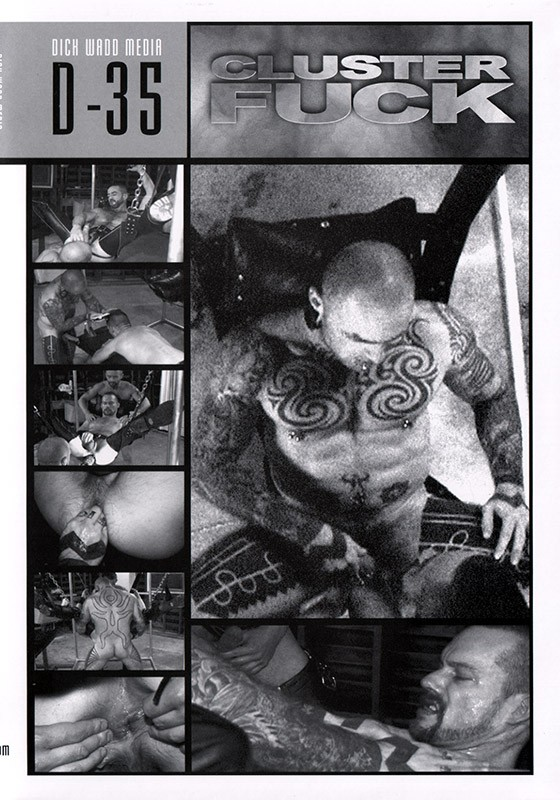 Cluster Fuck DVD - Front