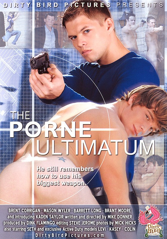 The Porne Ultimatum DVD - Front
