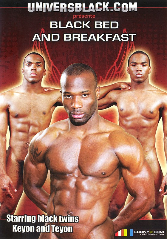 Black Bed and Breakfast DVD - Front