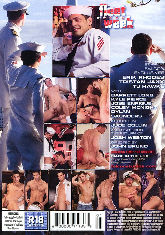 Fleet Week DVD - Back