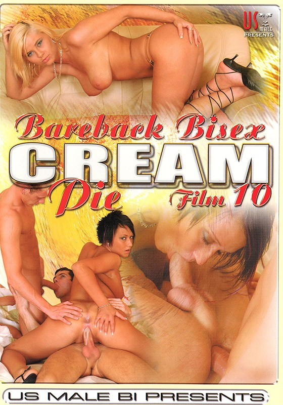 Bareback Bisex Creampie 10 DVD - Front