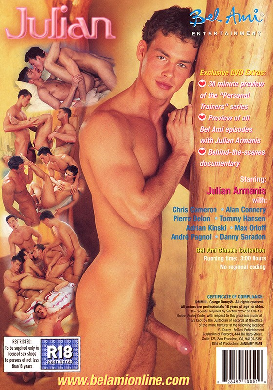 Julian DVD - Back