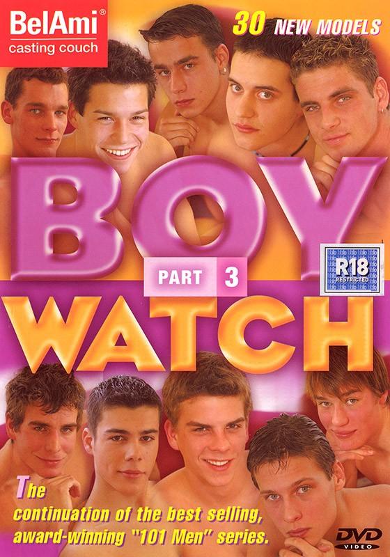 Boy Watch 3 DVD - Front