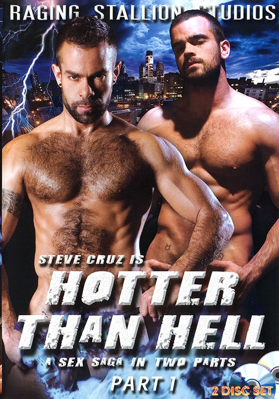 Hotter than Hell part 1 DVD - Front