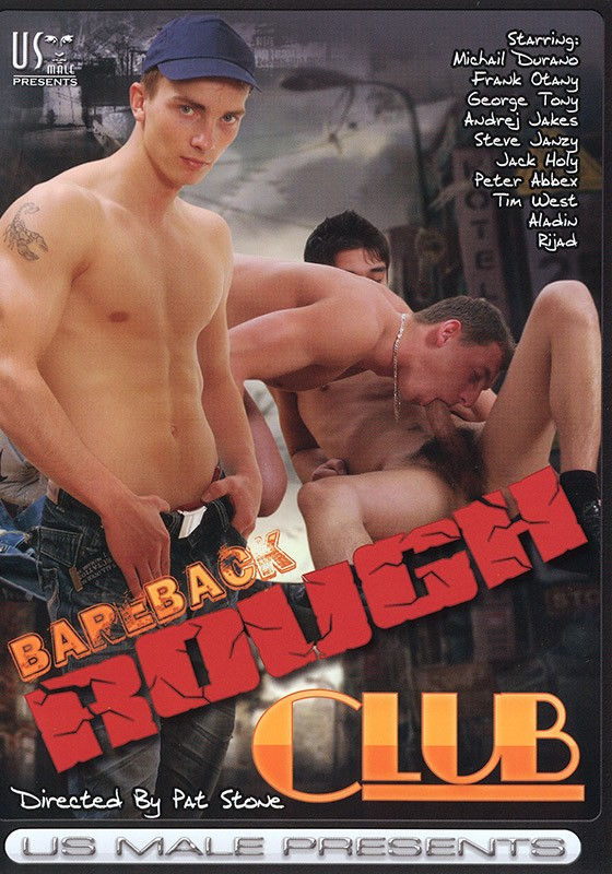 Bareback Rough Club DVD - Front