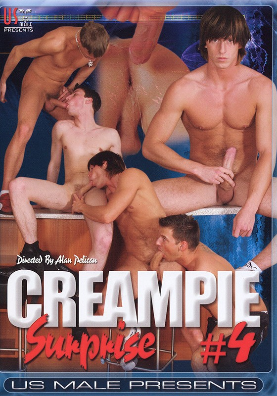 Creampie Surprise 4 DVD - Front