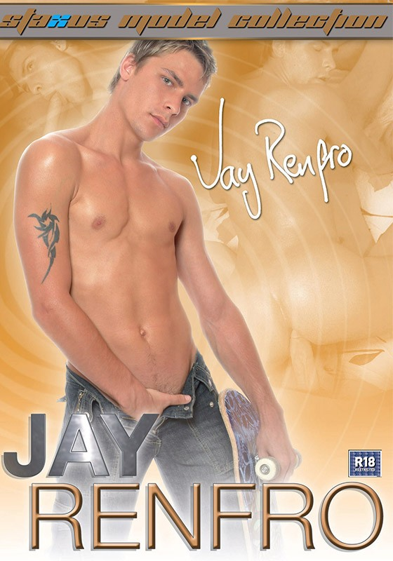 Staxus Model Collection 12: Jay Renfro DVD - Front