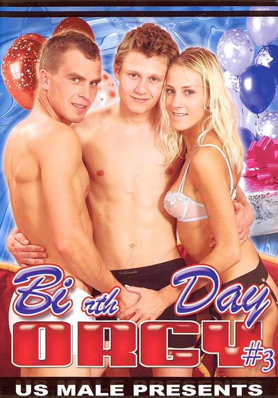 Bi-rth day Orgy 3 DVD - Front