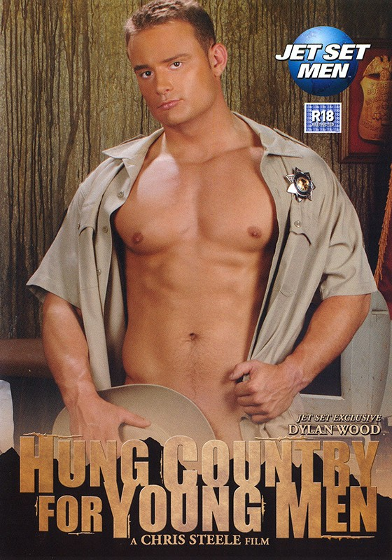 Hung Country for Young Men DVD - Front