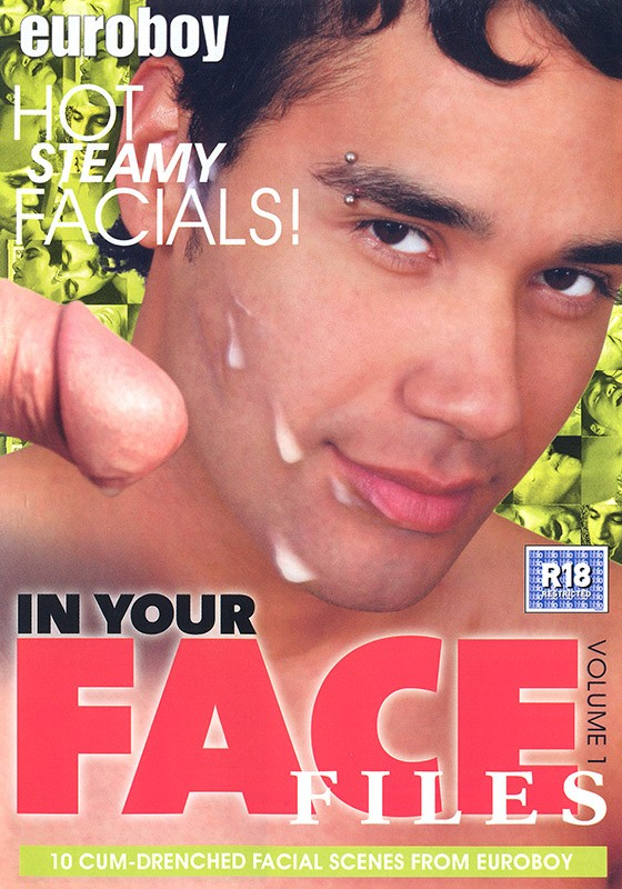 In Your Face Files 1 DVD - Front