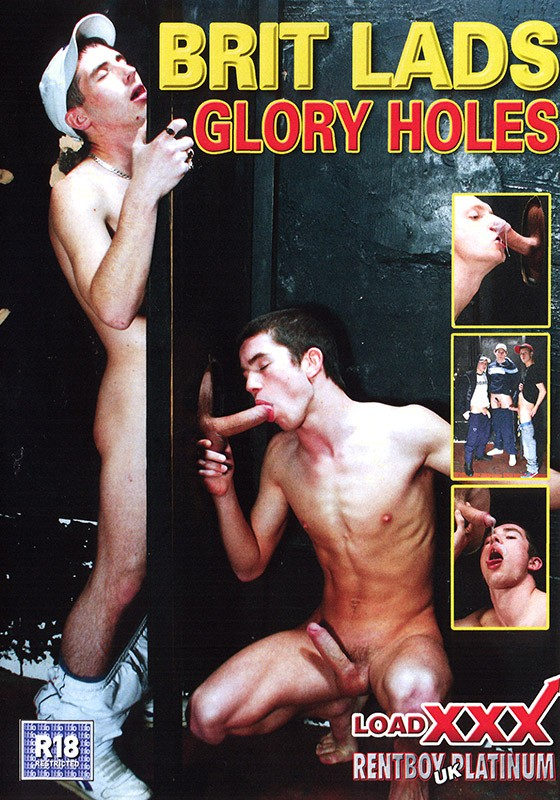Brit Lads Glory Holes DVD - Front