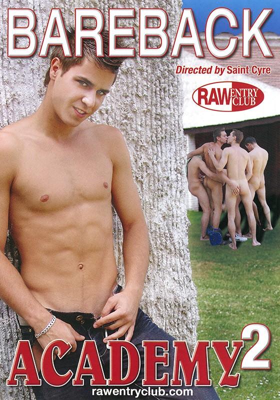 Bareback Academy 2 DVD - Front