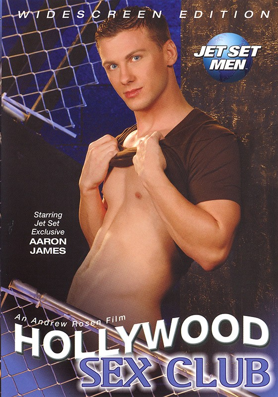 Hollywood Sex Club DVD - Front