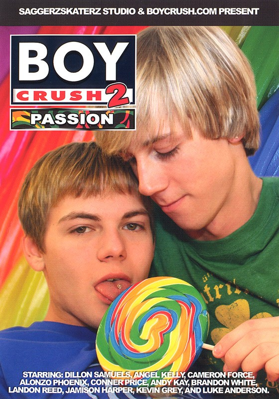Boy Crush 2: Passion DVD - Front