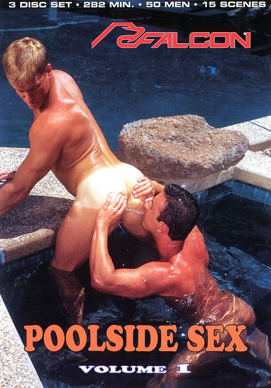 Poolside Sex volume 1 DVD - Front