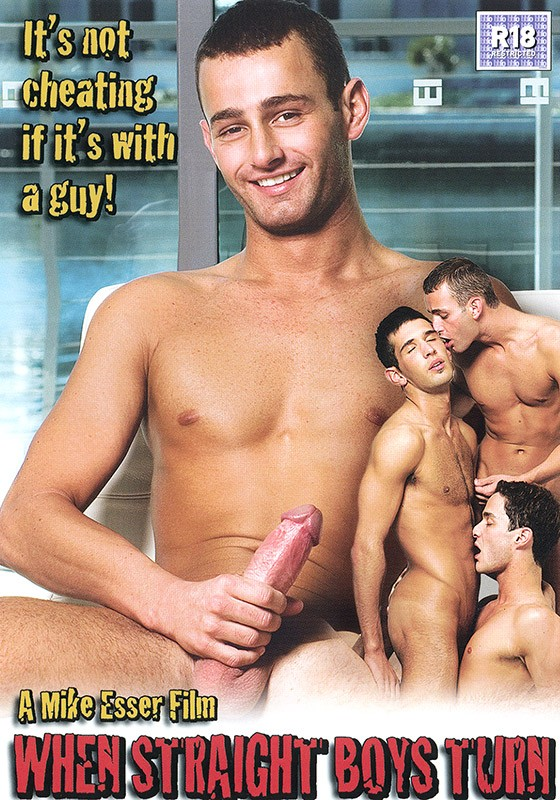 When Straight Boys Turn DVD - Front
