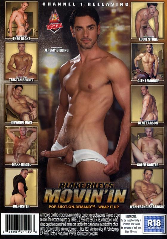 Blake Riley's Movin' In DVD - Back