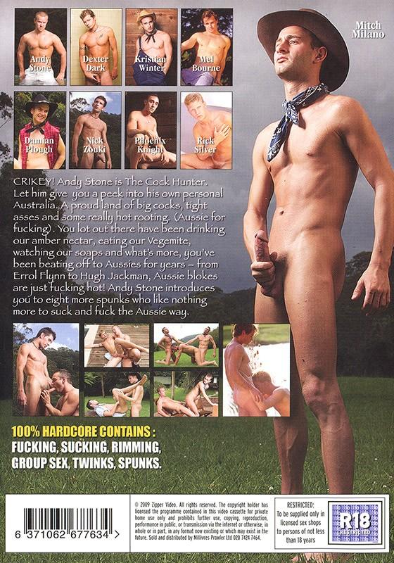 The Cock Hunter DVD - Back