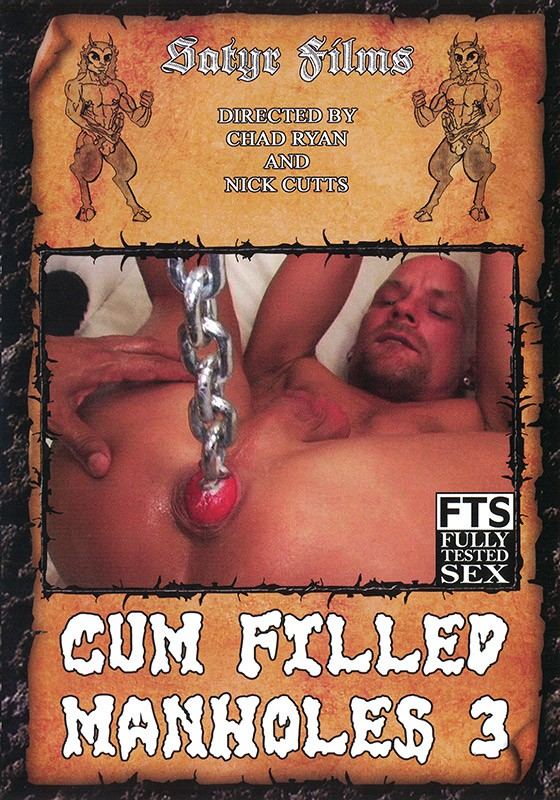 Cum Filled Manholes 3 DVD - Front