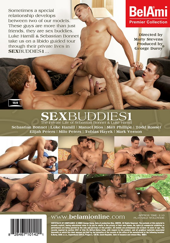Sex Buddies 1 DVD - Back