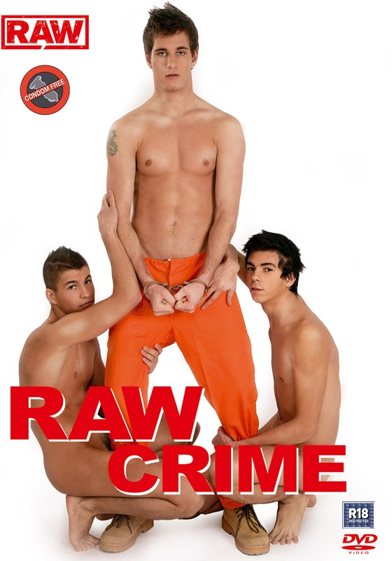 Raw Crime DVD - Front