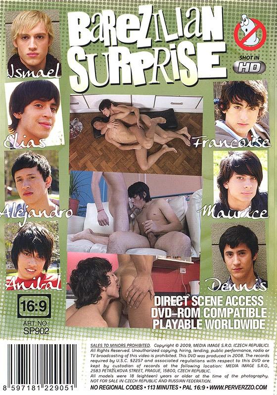 Barezilian Surprise DVD - Back