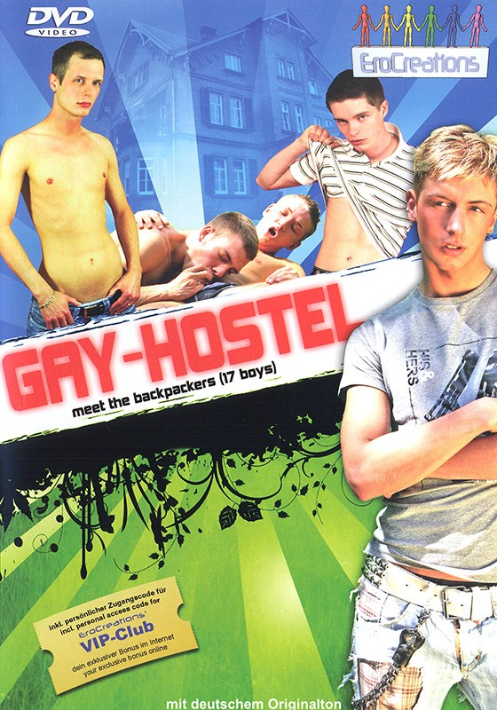 Gay Hostel DVD - Front