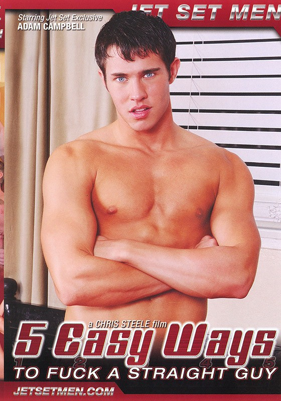 5 Easy Ways to Fuck a Straight Guy DVD - Front