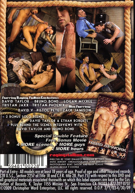 Port of Entry DVD - Back