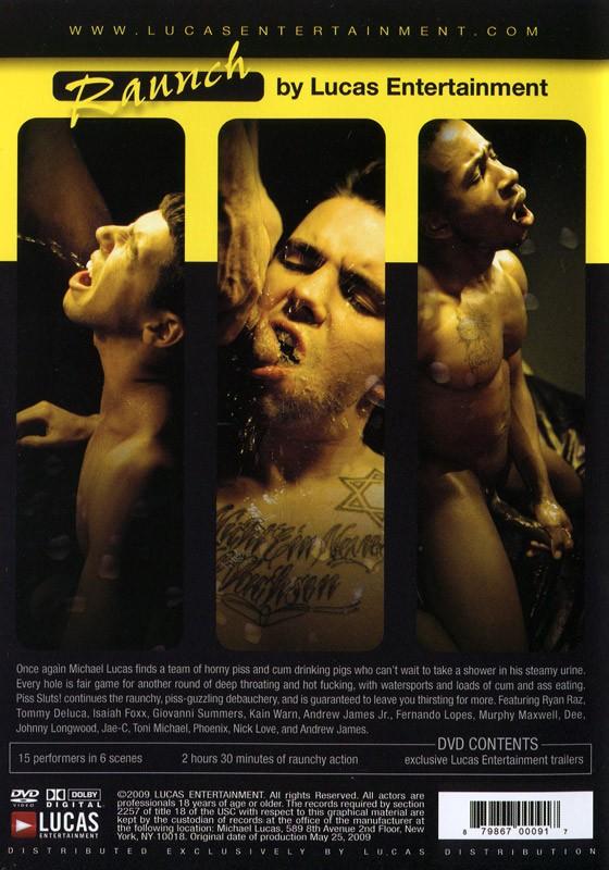 Piss Sluts! DVD - Back