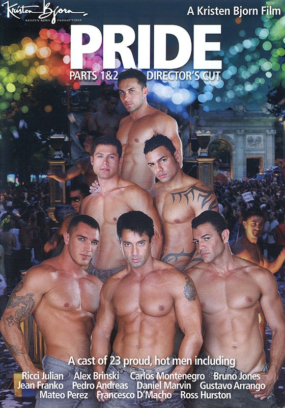 Pride parts 1 & 2 DVD - Front