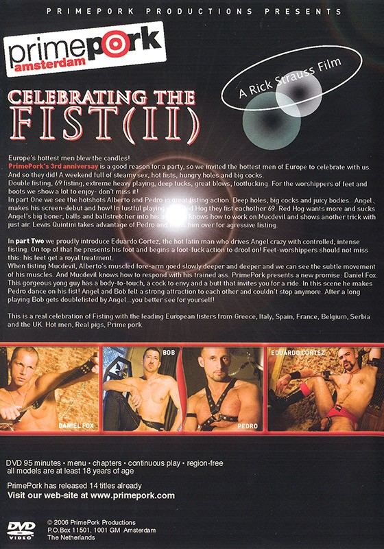 Celebrating the Fist 2 DVD - Back