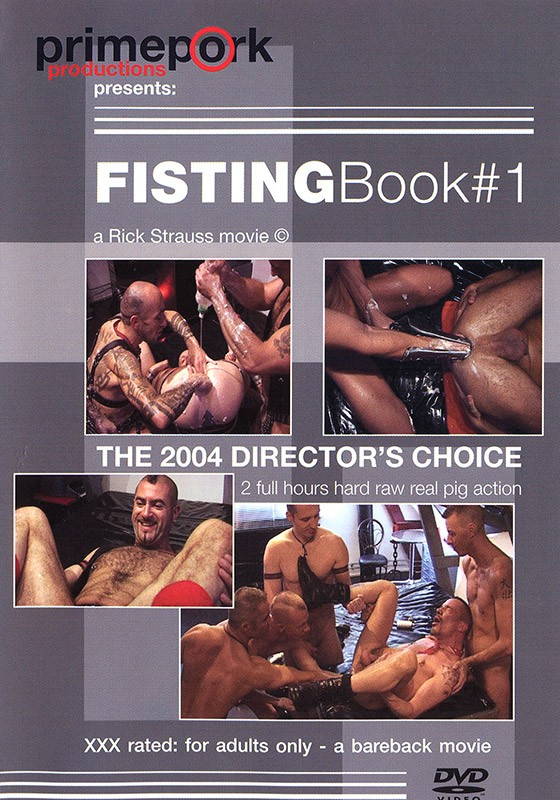 Fisting Book 1 DVD - Front