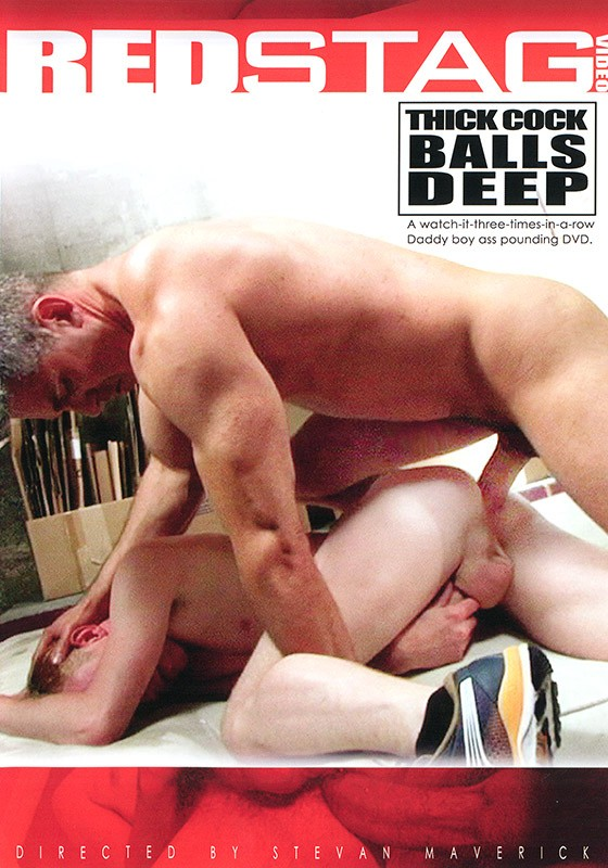 Thick Cock Balls Deep DVD - Front