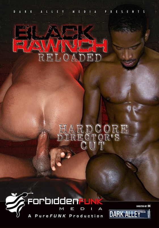 Black Rawnch Reloaded: Hardcore Director's Cut DVD - Front