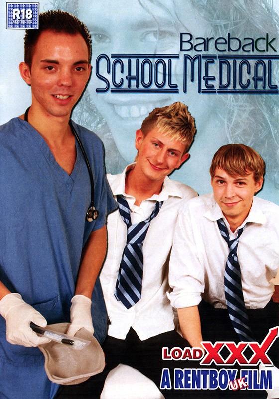 Bareback School Medical DVD - Front