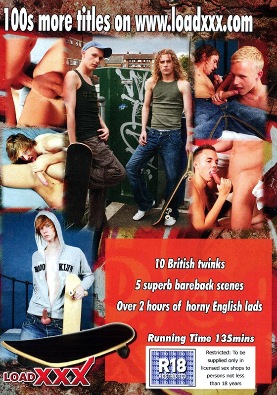 Bare British Skateboarders 2 DVD - Back