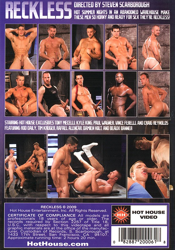 Reckless DVD - Back