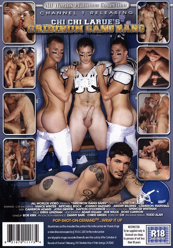 Gridiron Gang Bang DVD - Back