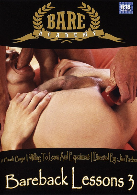 Bareback Lessons 3 DVD - Front