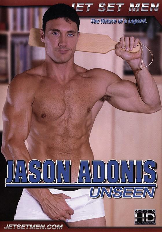 Jason Adonis Unseen DVD - Front