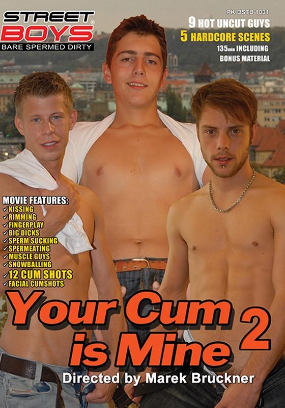Your Cum Is Mine 2 DVD - Front