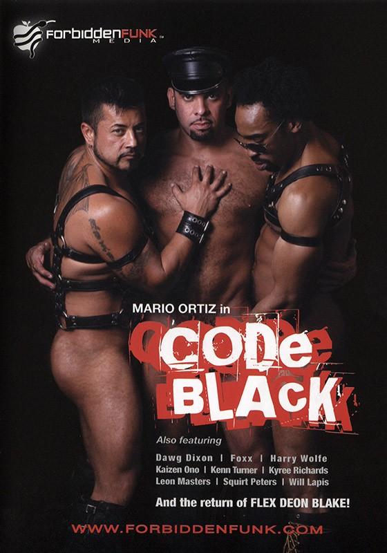 Code Black DVD - Front