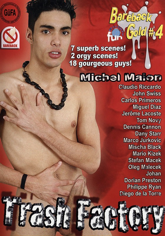 Trash Factory DVD - Front
