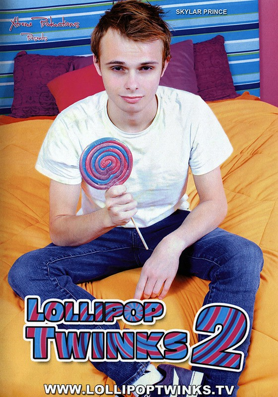 Lollipop Twinks 2 DVD - Front