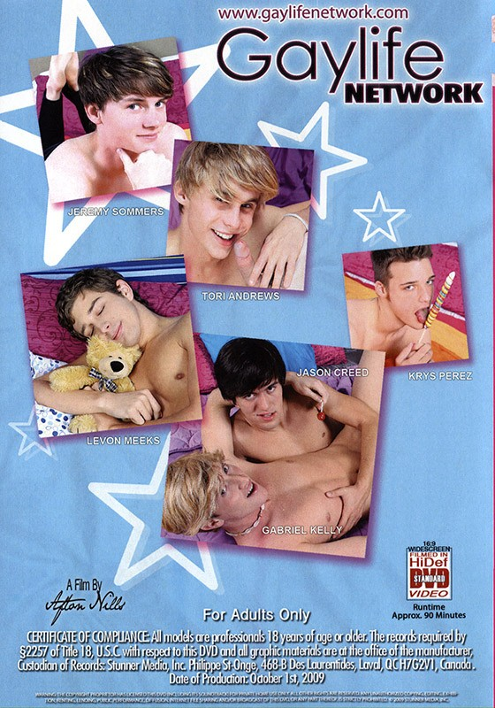 Playful Twinks: Pants Up! DVD - Back