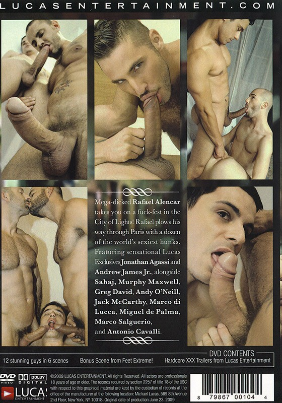 Rafael in Paris DVD - Back