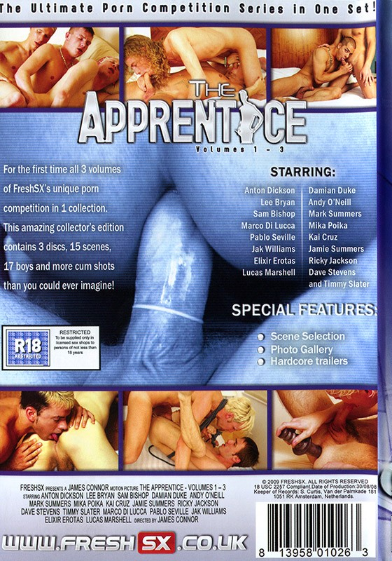 The Apprentice Volumes 1-3 DVD - Back